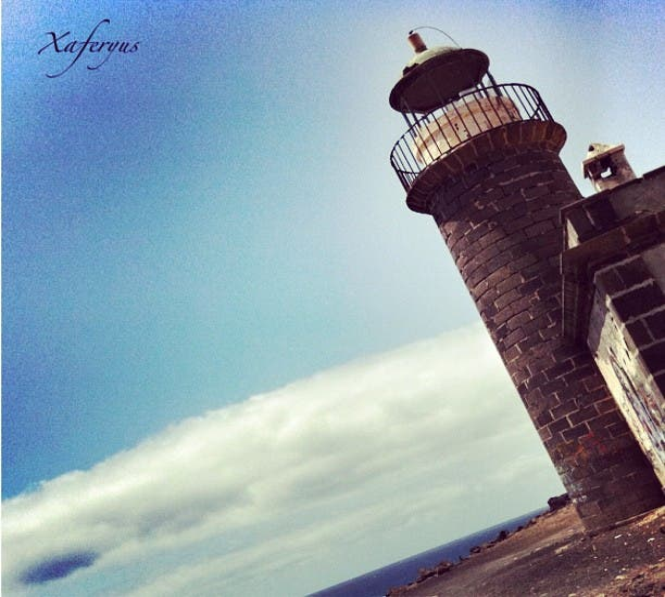 Torre de control en Faro De Pechiguera.