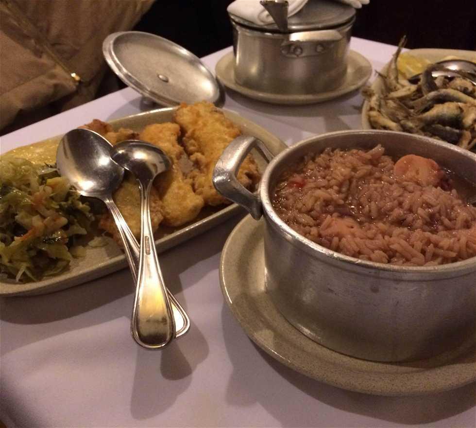Comida en Restaurante A Grade