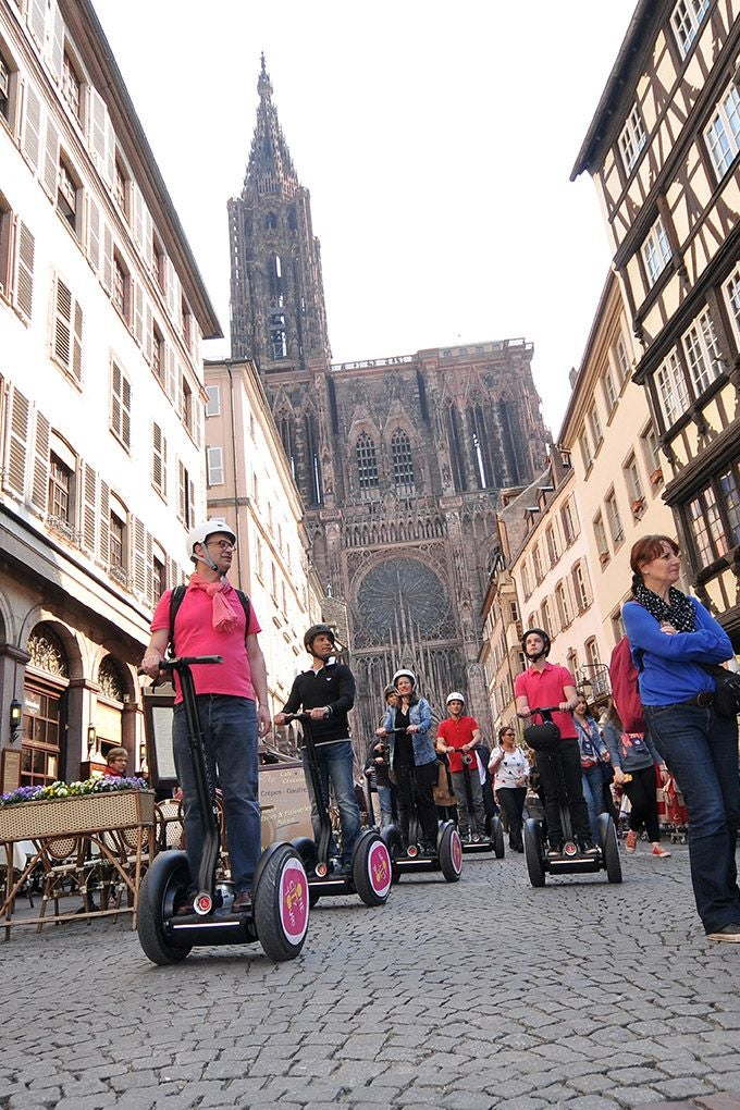 City in Estraburgo Segway