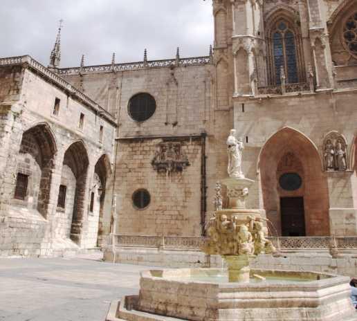 Historia antigua en Plaza de Santa Maria