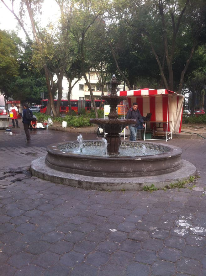 Plaza en Glorieta de Chilpancingo