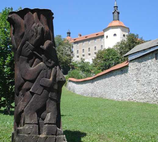 Castillo en Castillo de Skofja loka