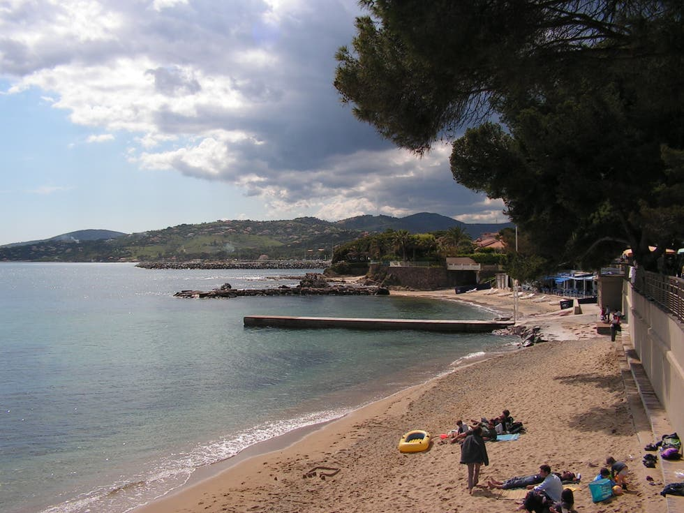 Beach in Les Issambres