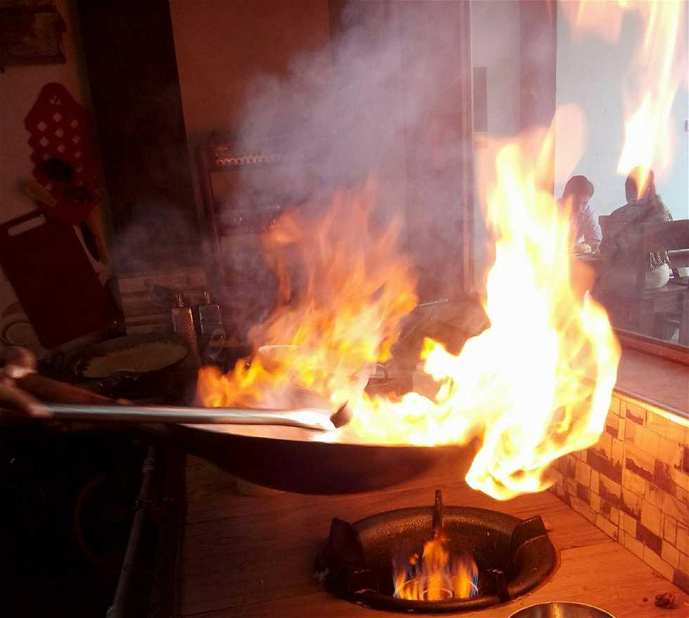 Fire in Matale