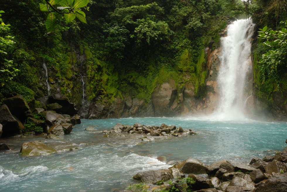 Catarata en Costa Rica