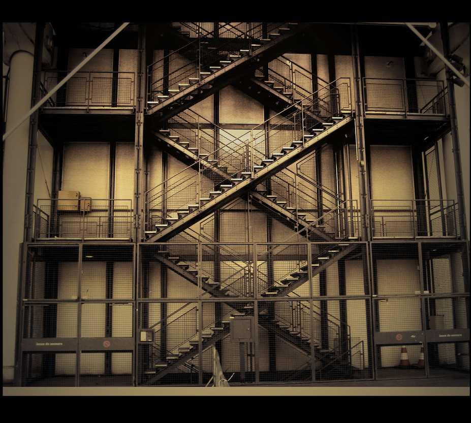 Casa en Centro Pompidou