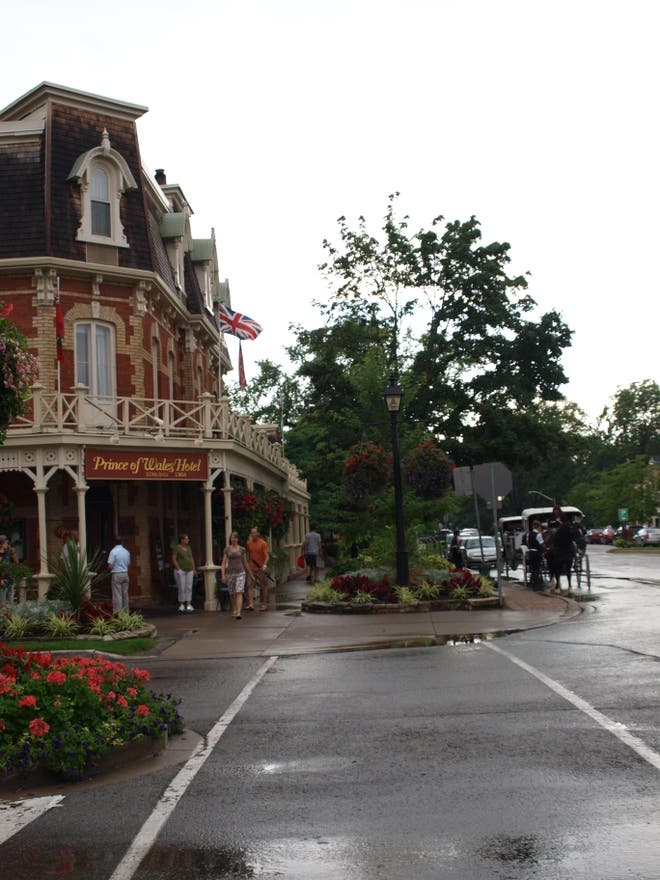 Centro de la ciudad en Niagara-on-the-Lake