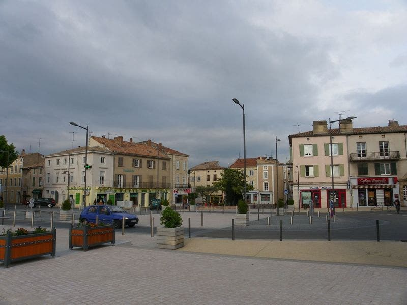City in Bourg-Saint-Andéol