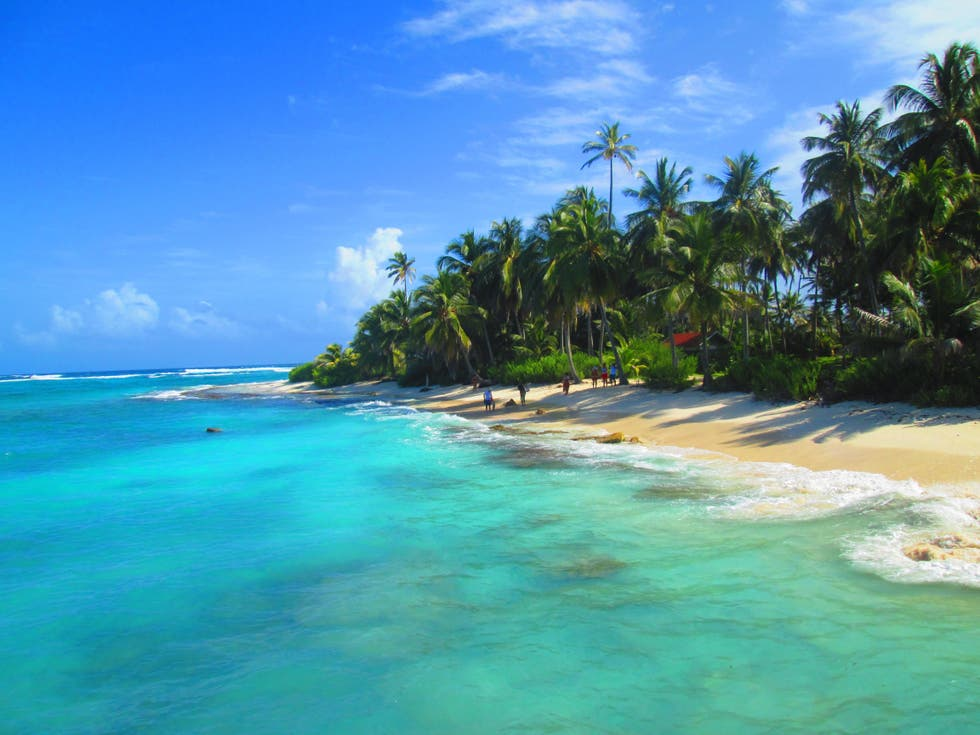 Vacation in San Andres Island