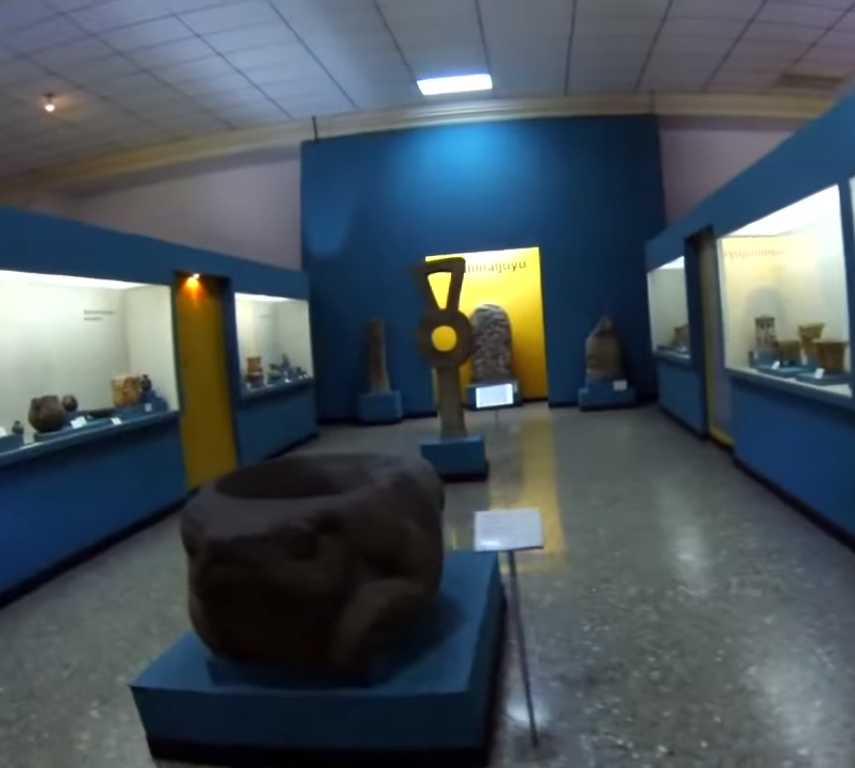 Sala en Museo Nacional de Arqueología y Etnología