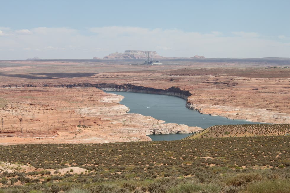 Llanura en Lake Powell