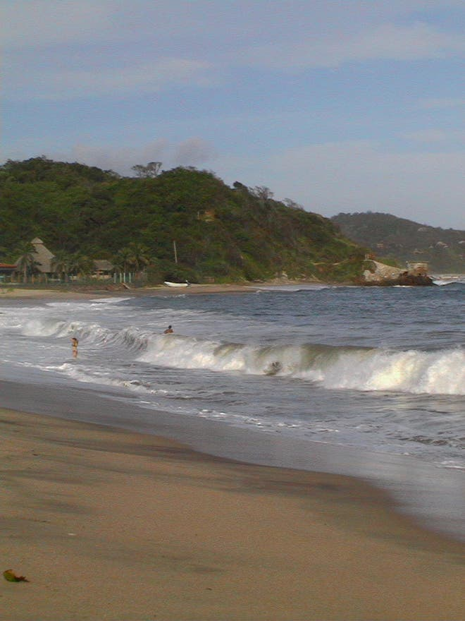 Mar en Manzanillo