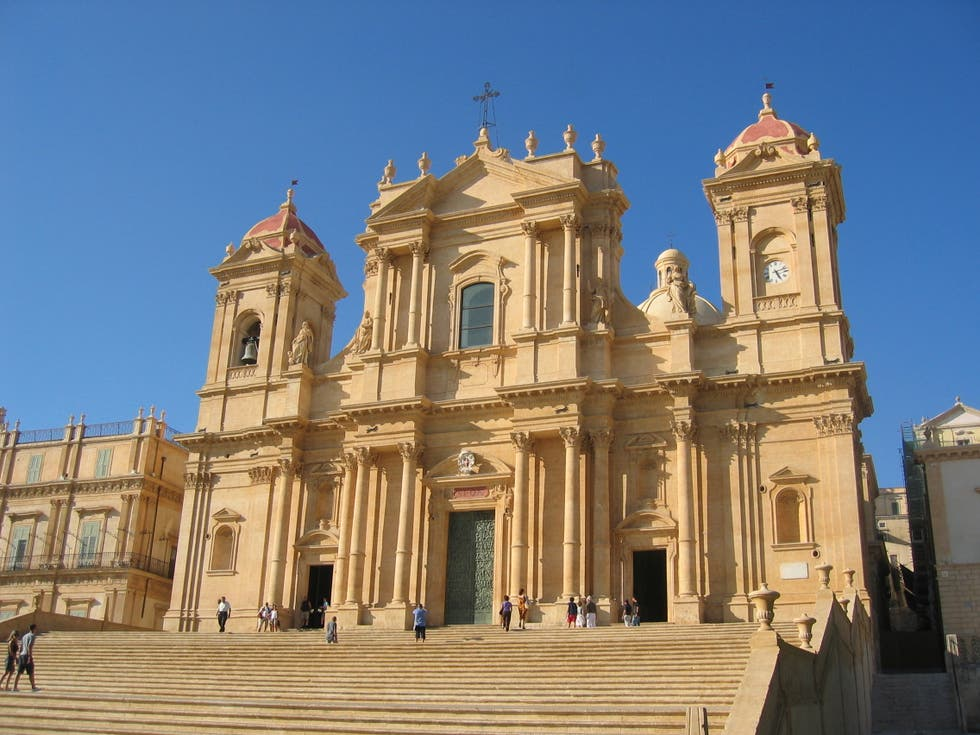 Cathedral in Noto