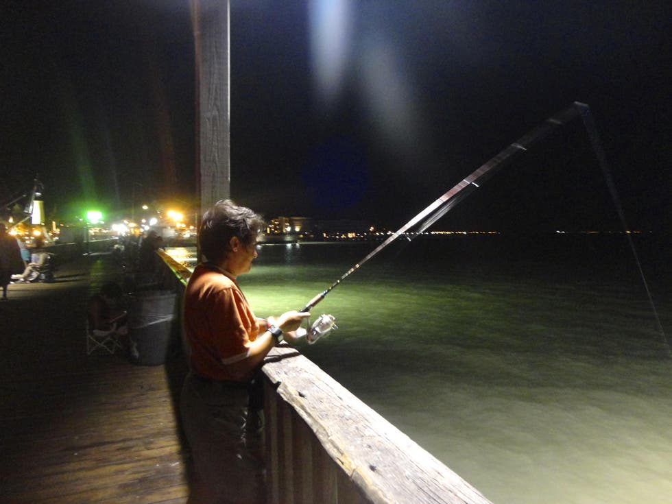 Night in South Padre Island