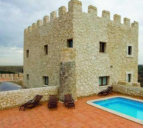 Fuerte en Residencia Real del Castillo de Curiel