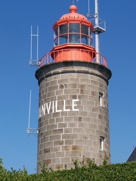 Lighthouse in Granville