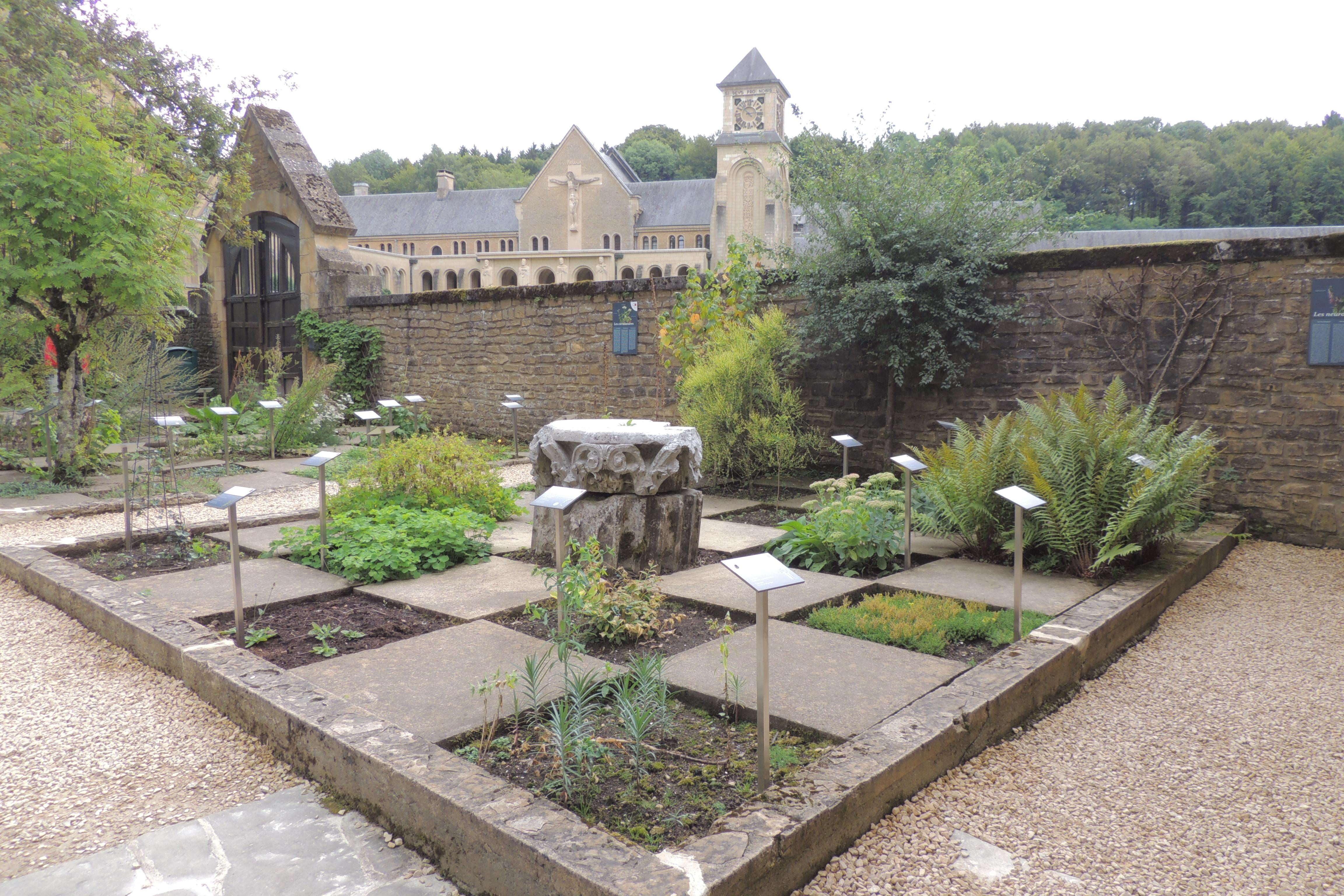 Photos Of Garden Of Medicinal Plants Of The Abbey Of Orval