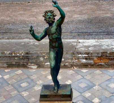 Estatua en Scavi Di Pompei