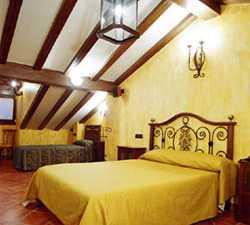 Sala en Hostal Los Telares