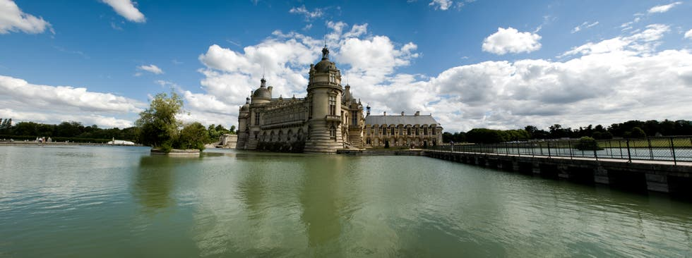 Moat in Chantilly