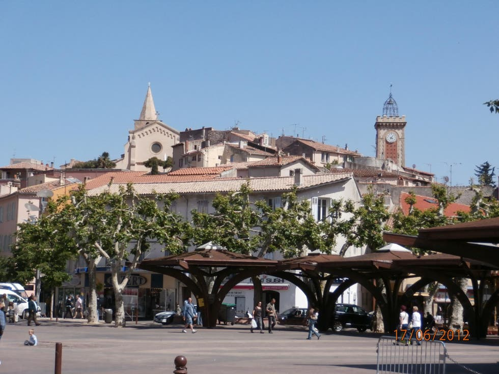 Town in Aubagne