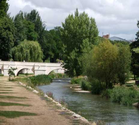 Río en Puente de Santa Maria