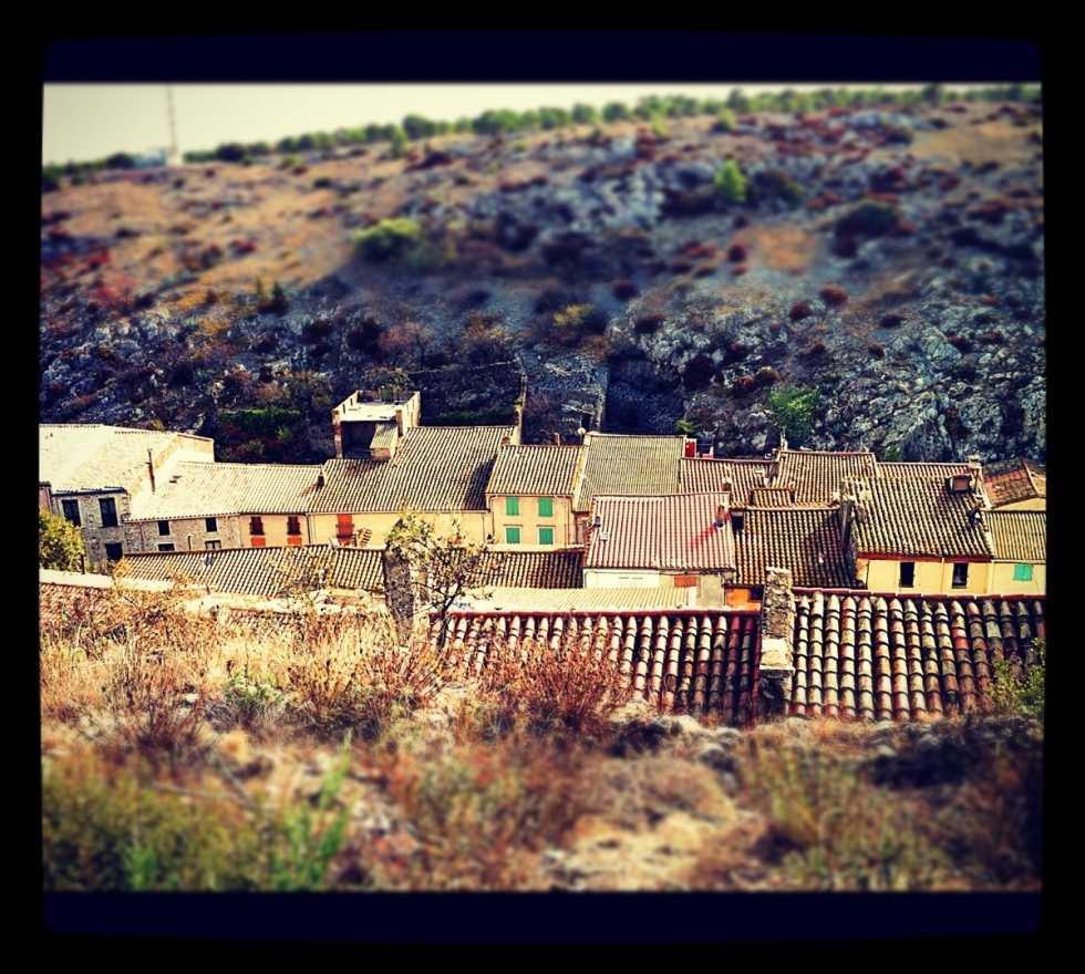 Pueblo en Fitou