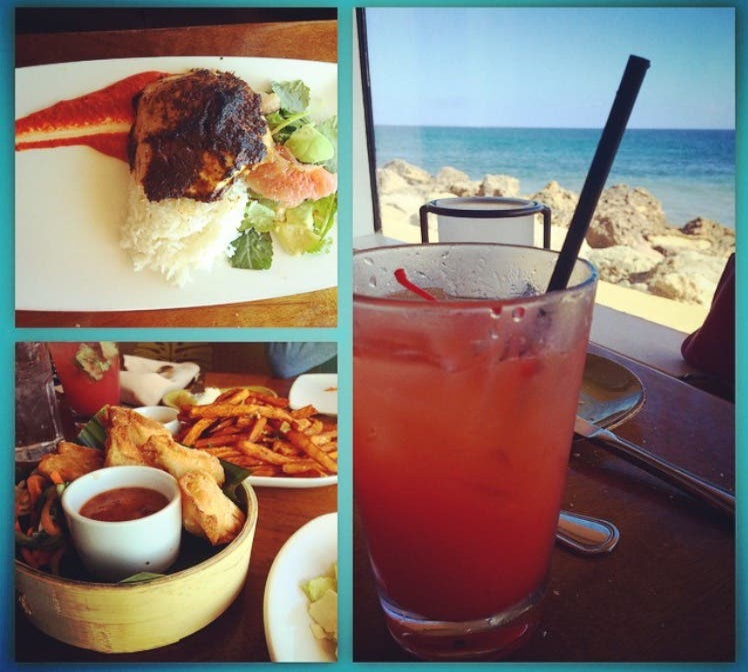 Bebida en Duke's Malibu