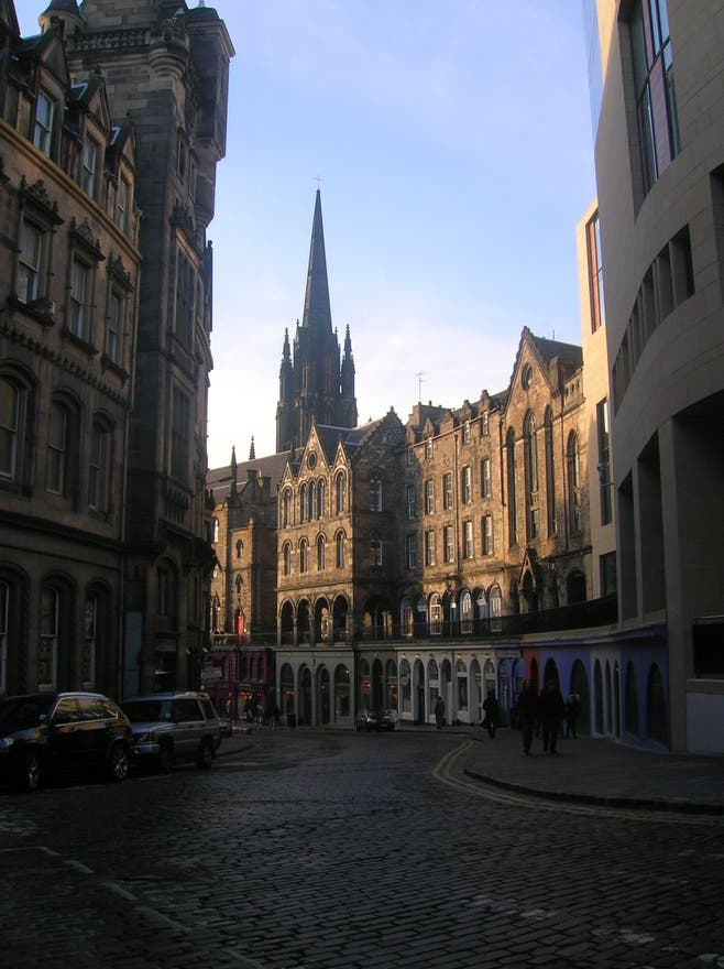 Plaza en Royal Mile