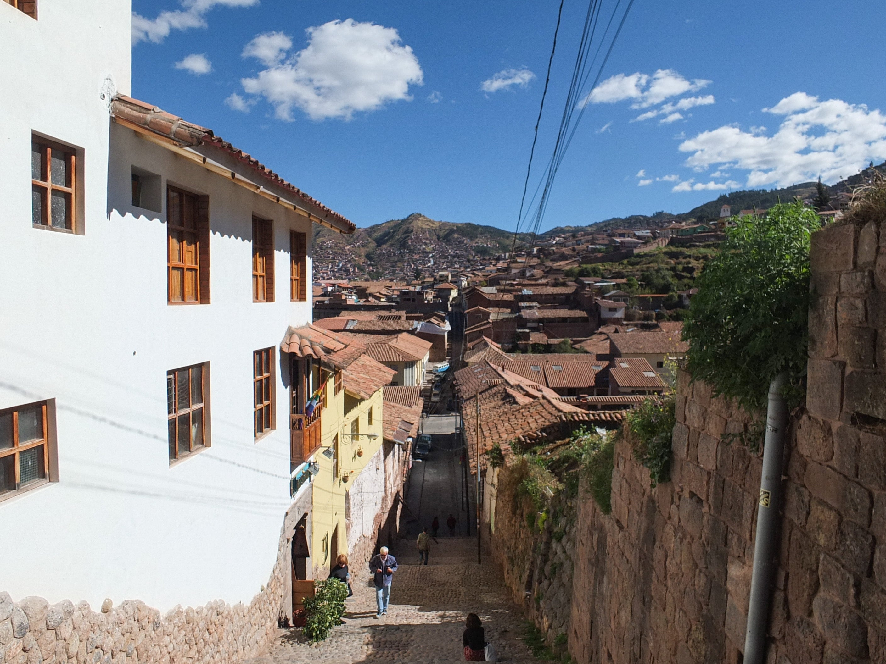 People in Cuzco