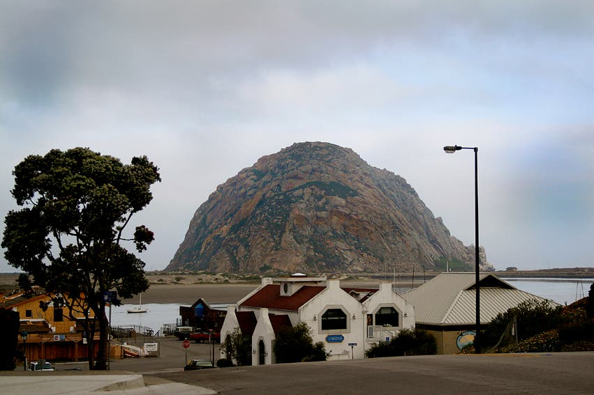 Cloud in Morro Bay