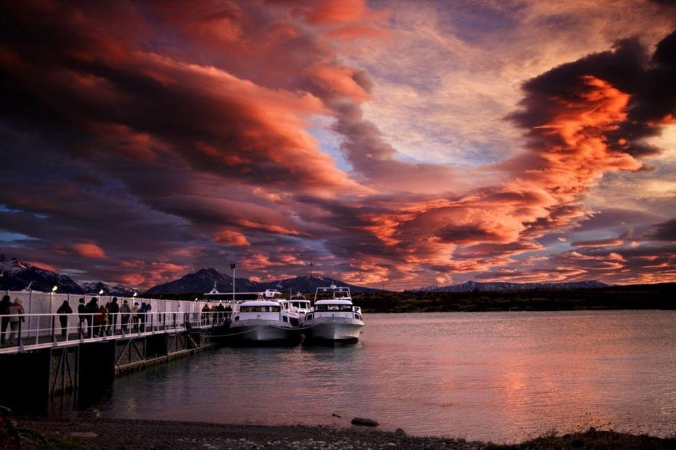 Sunset in Bariloche