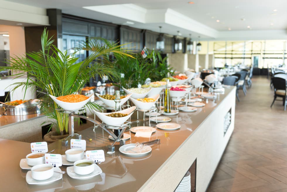Buffet en Gamboa Rainforest Resort