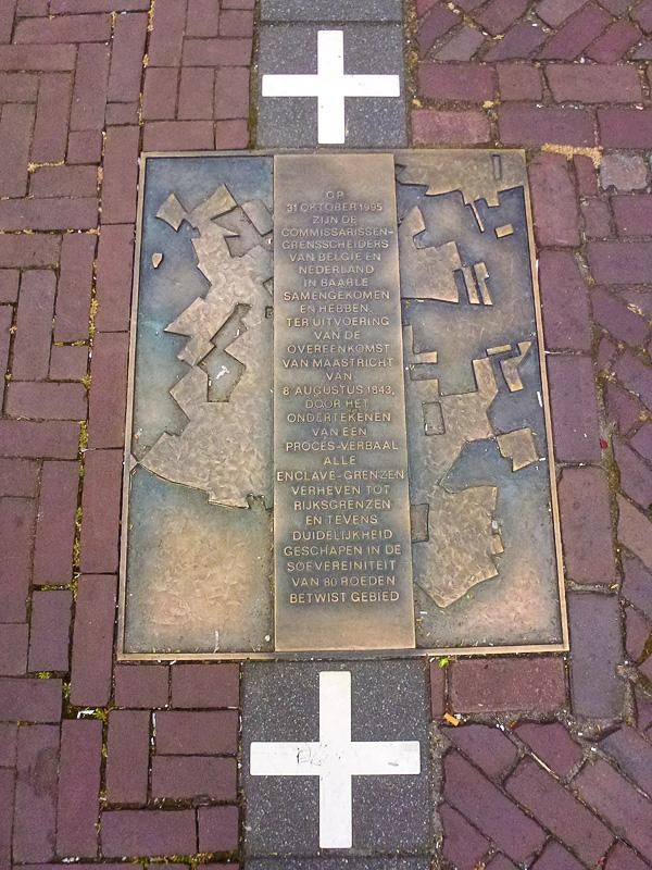 Memorial in Baarle-Hertog