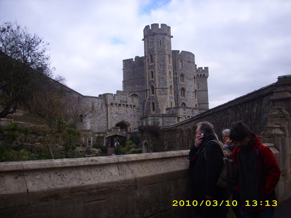 Pared en Castillo de Windsor