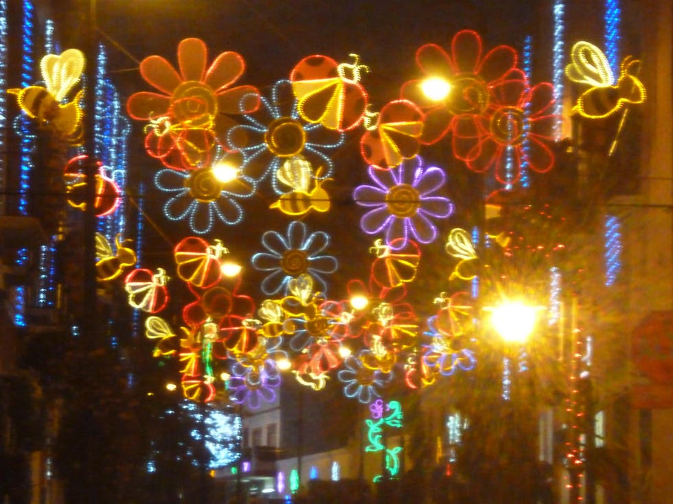 Christmas Lights in Atlixco