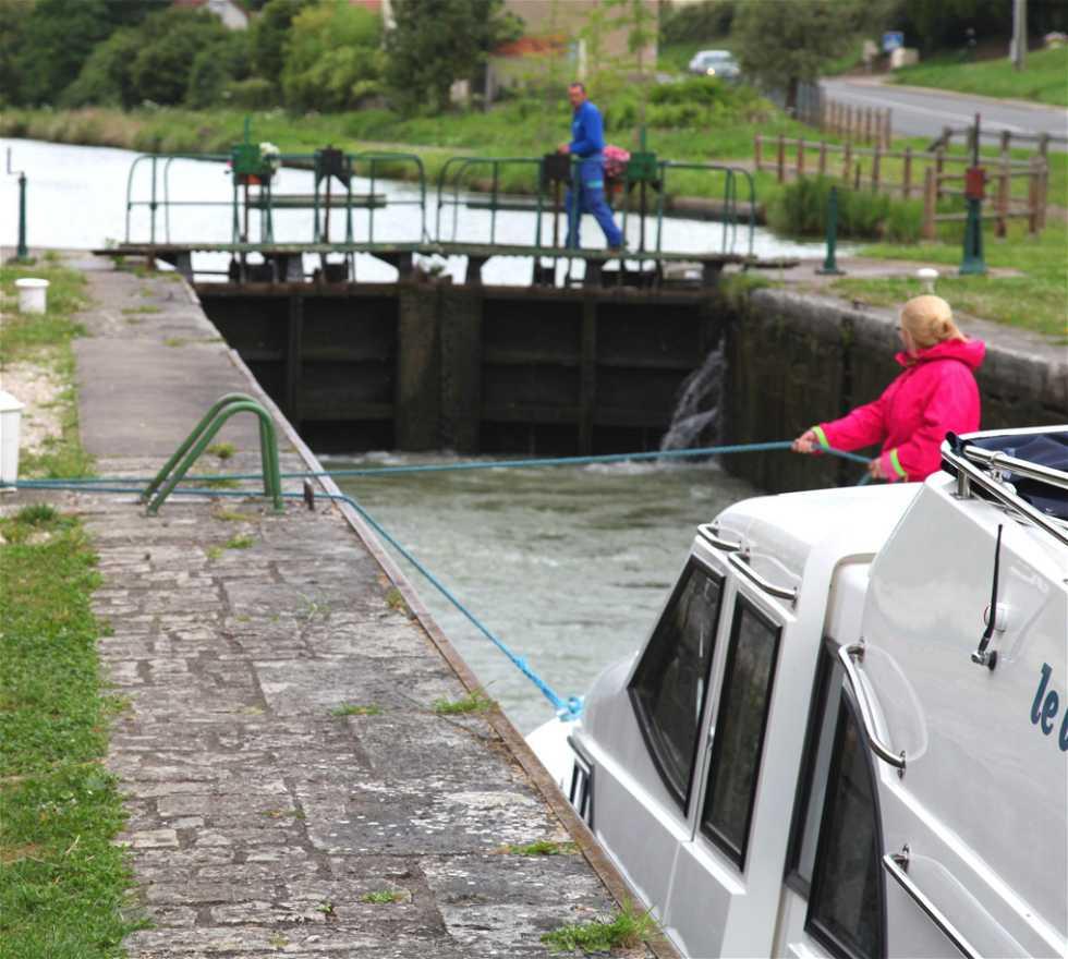 Canal en Bannay