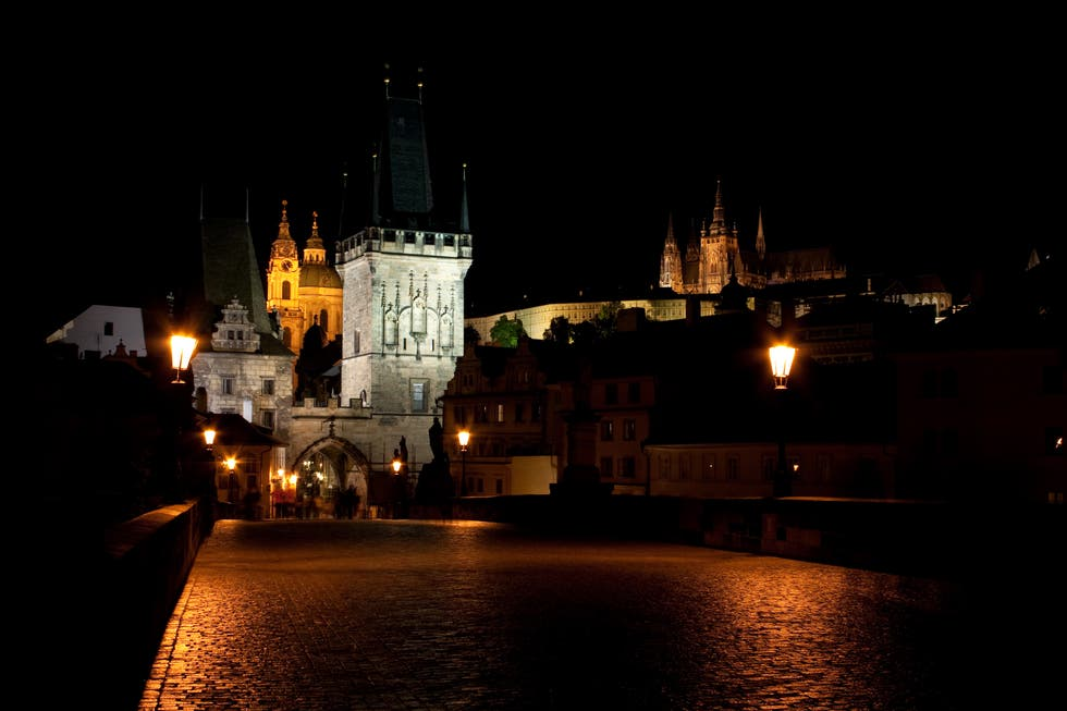 Night in Prague