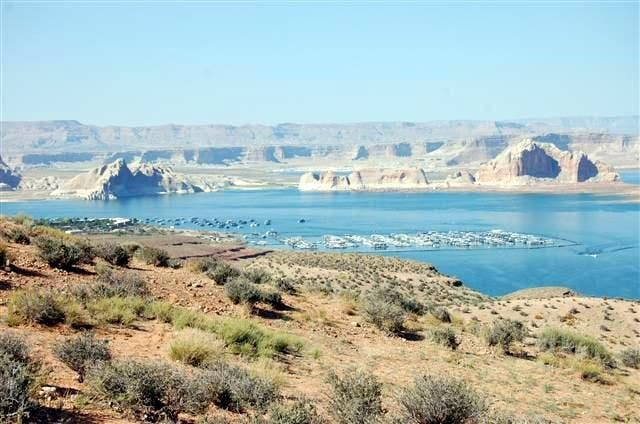 Costa en Lake Powell