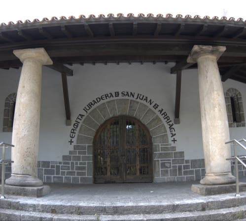 Historia antigua en Ermita juradera de San Juan de Arriaga