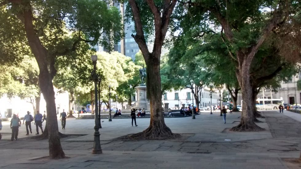 Plaza en Largo do Paço