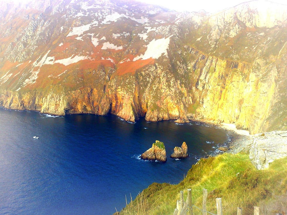 Reflejo en Slieve League