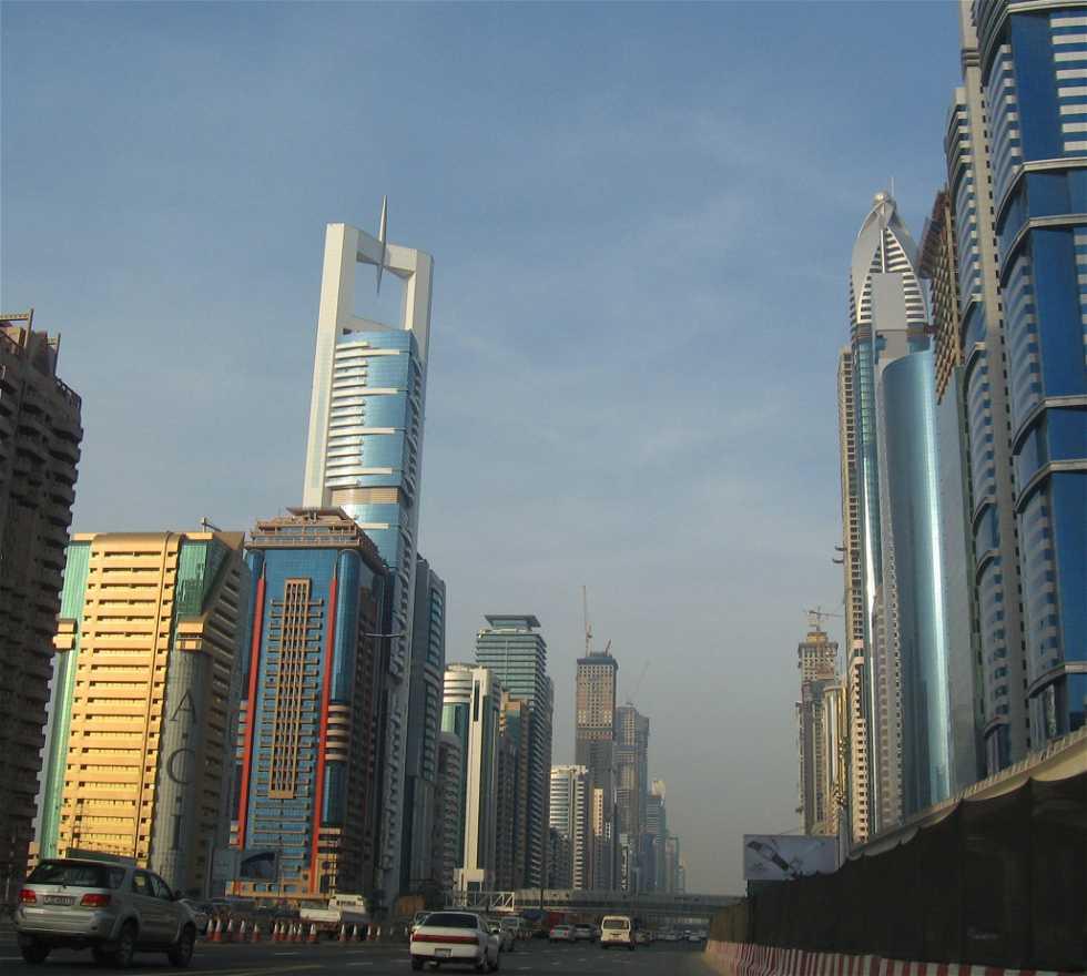 Edificio en Autopista Sheikh Zayed