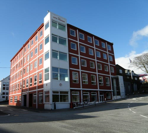 Fachada en Tórshavn