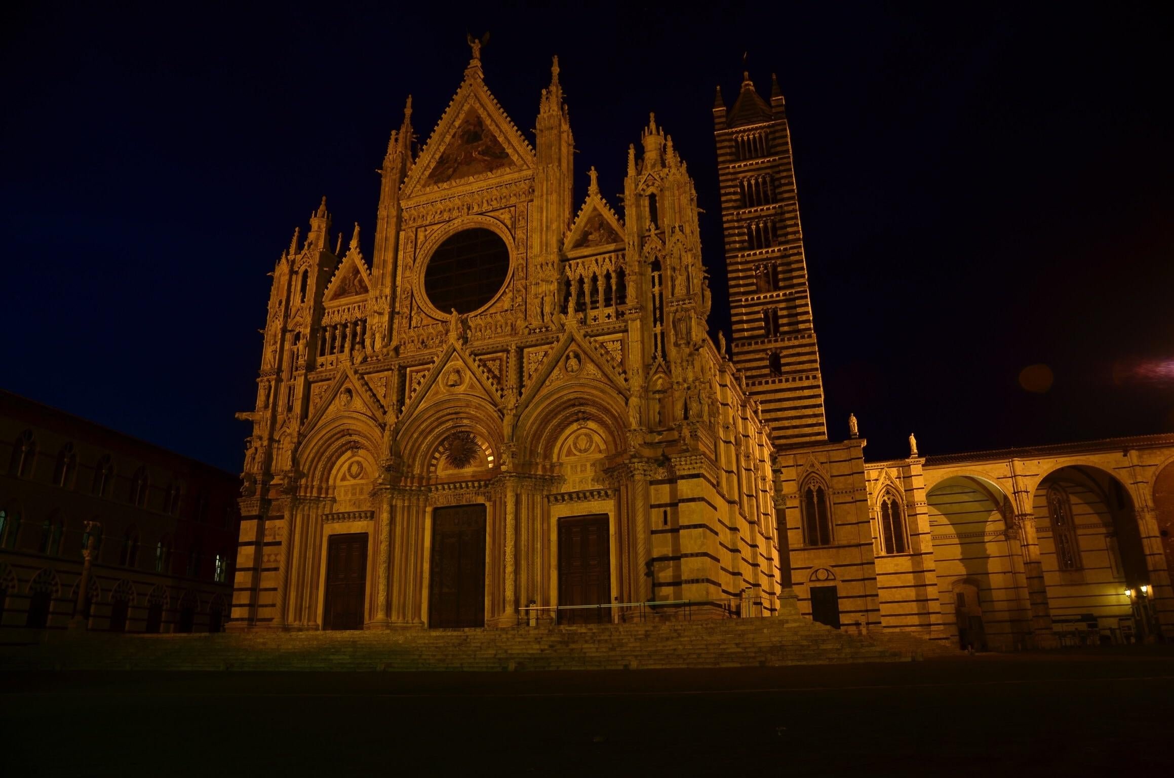 Darkness in Sienna