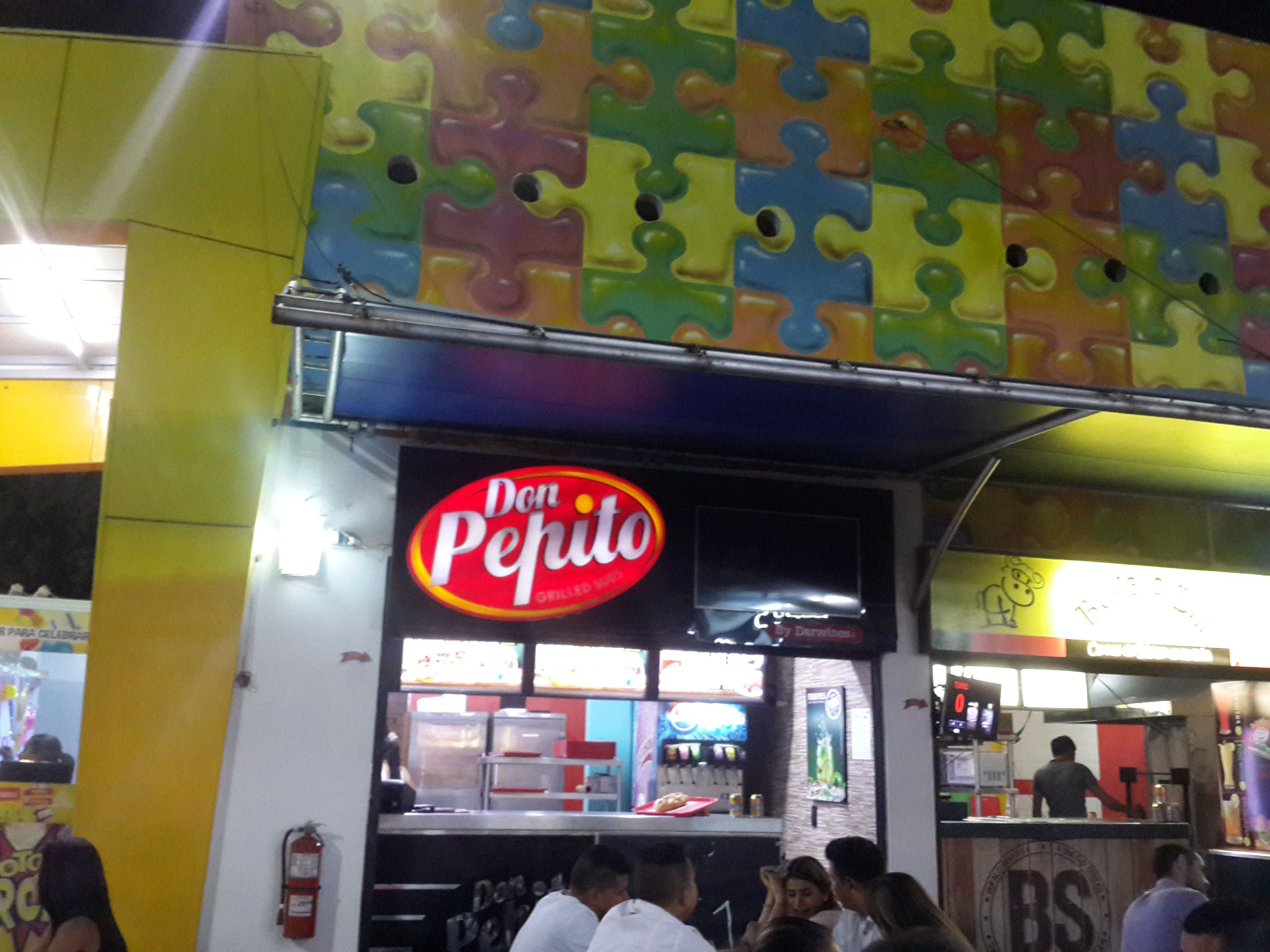 Food in Don Pepito Grilled Subs