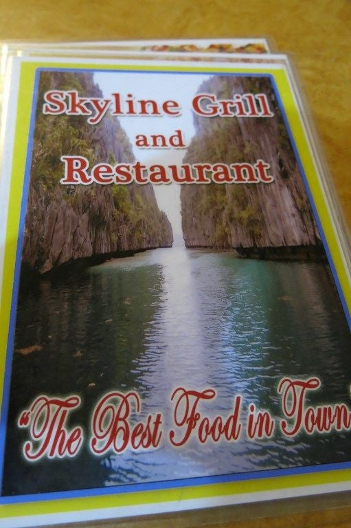 Food in Skyline Grill Rest