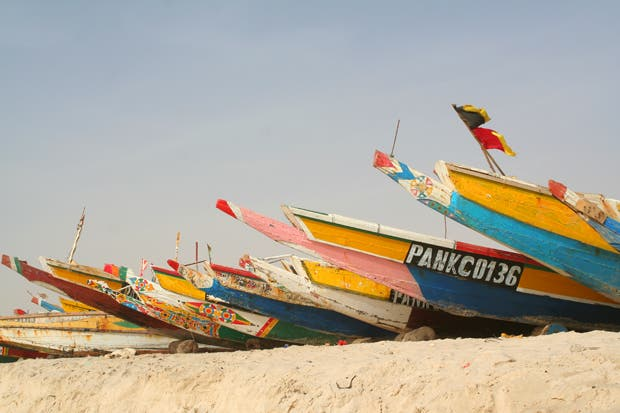 Shore in Mauritania