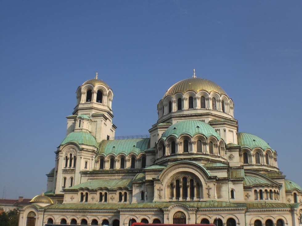 Cathedral in Sofia