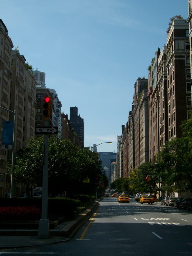 Ciudad en Madison Avenue
